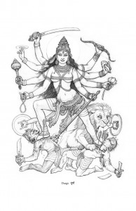 The Goddess Durga PRINT LOW RES