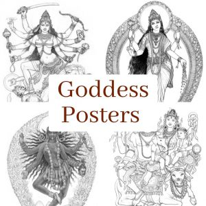 Goddess Posters by Sally Kempton